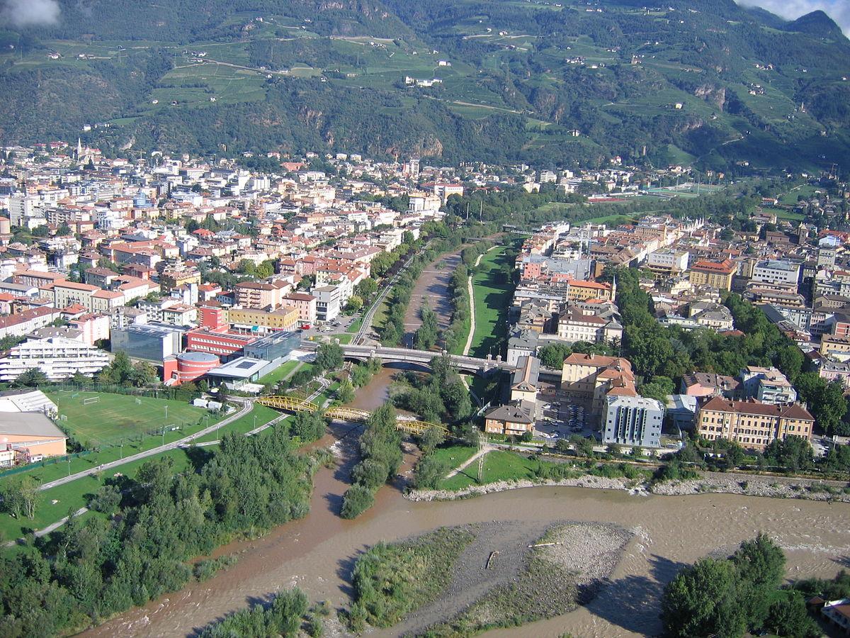 Bolzano wikipedia for Trento e bolzano
