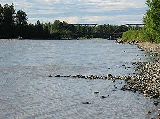 Talkeetna River - Talkeetna River in Southcentral Alaska