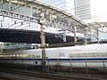 Tamachi station free passages over Tokaido Shinkansen 01.jpg