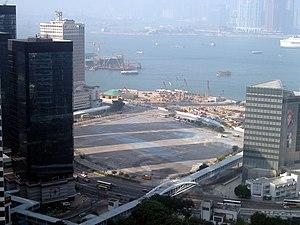 Tamar, Hong Kong - Panorama of Tamar site in 2005.