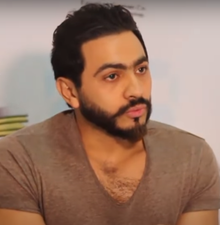 Tamer Hosny in an interview at Middle East News Agency