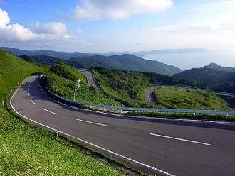 Nakadomari, Aomori - Tatsudomari Line between Kodomari and Cape Tappi