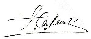 Taur Matan Ruak - Image: Taur Matan Ruak signature