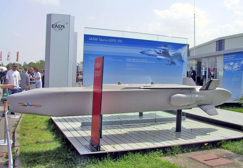 MBDA entrega 600º míssil TAURUS KEPD 350 para a Luftwaffe