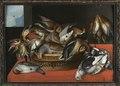 Tavla. Måleri. Stilleben, döda fåglar - Skoklosters slott - 85716.tif
