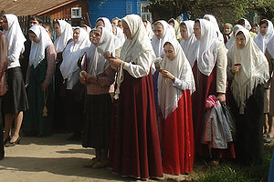Christian headcovering - Russian Orthodox Old-Rite Church