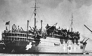 Cornell Franklin - The Teia Maru, on which Franklin was repatriated
