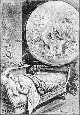 "Camille Flammarion - ""Telefonoscope"" from La Fin du Monde, 1894"