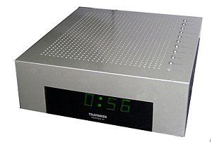 Telefunken - Telefunken alarm clock from c. 1995, designed by Philippe Starck.