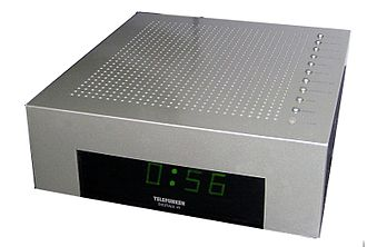 Telefunken - Telefunken alarm clock from c. 1995, designed by Philippe Starck.
