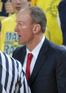 Thad Matta American basketball coach