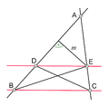 Thales theorem proof (with triangles).png