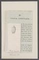 Thalia lingulata - - Print - Iconographia Zoologica - Special Collections University of Amsterdam - UBAINV0274 092 08 0061.tif