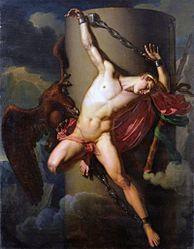 Jean Louis César Lair: The torture of Prometheus