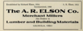 The A R Elson Co - Merchant millers - Lumber and building materials - Magnolia Ohio 1915.tiff