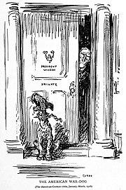The American War-Dog by Oscar Cesare 1916