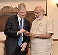 The Apple CEO, Mr. Tim Cook calls on the Prime Minister, Shri Narendra Modi, in New Delhi on May 21, 2016 (3).jpg