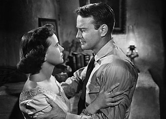 Teresa Wright - Teresa Wright and Lew Ayres in The Capture (1950)