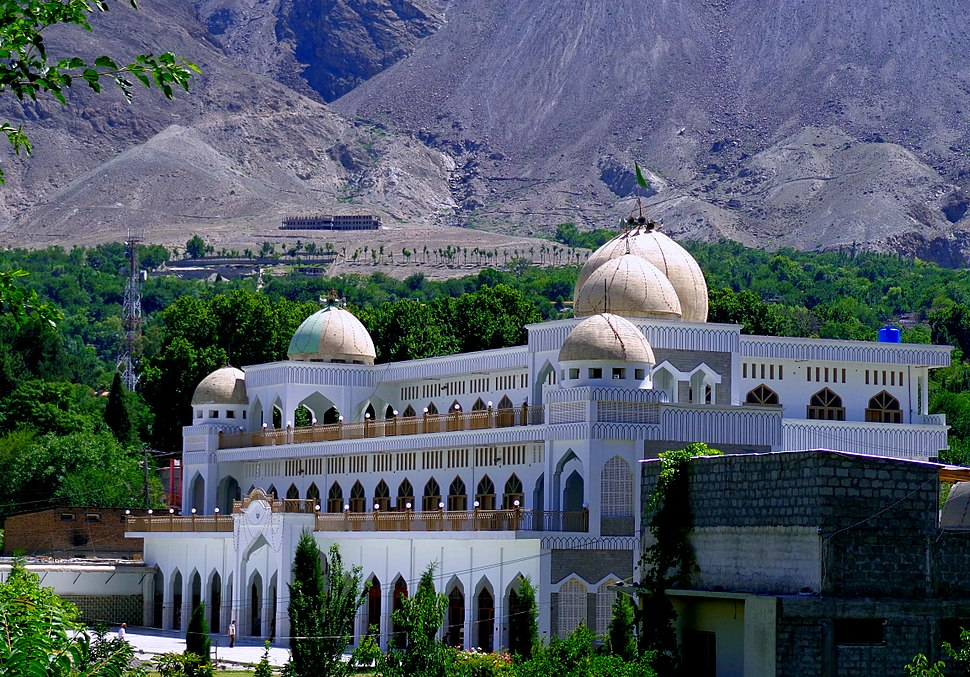 The Central Imaamia Mosque Gilgit City, GB