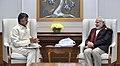 The Chief Minister of Andhra Pradesh, Shri N. Chandrababu Naidu calling on the Prime Minister, Shri Narendra Modi, in New Delhi on January 12, 2018 (3).jpg