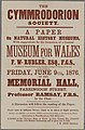 The Cymmrodorion Society Museum For Wales 1876.jpg