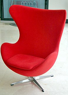 chair designed by Arne Jacobsen