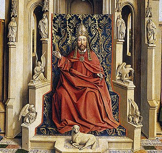 The Fountain of Life (painting) - Image: The Fountain of Life after van Eyck 4