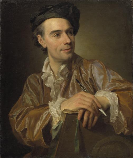 The French Painter Claude Joseph Vernet (Alexander Roslin) - Nationalmuseum - 18536