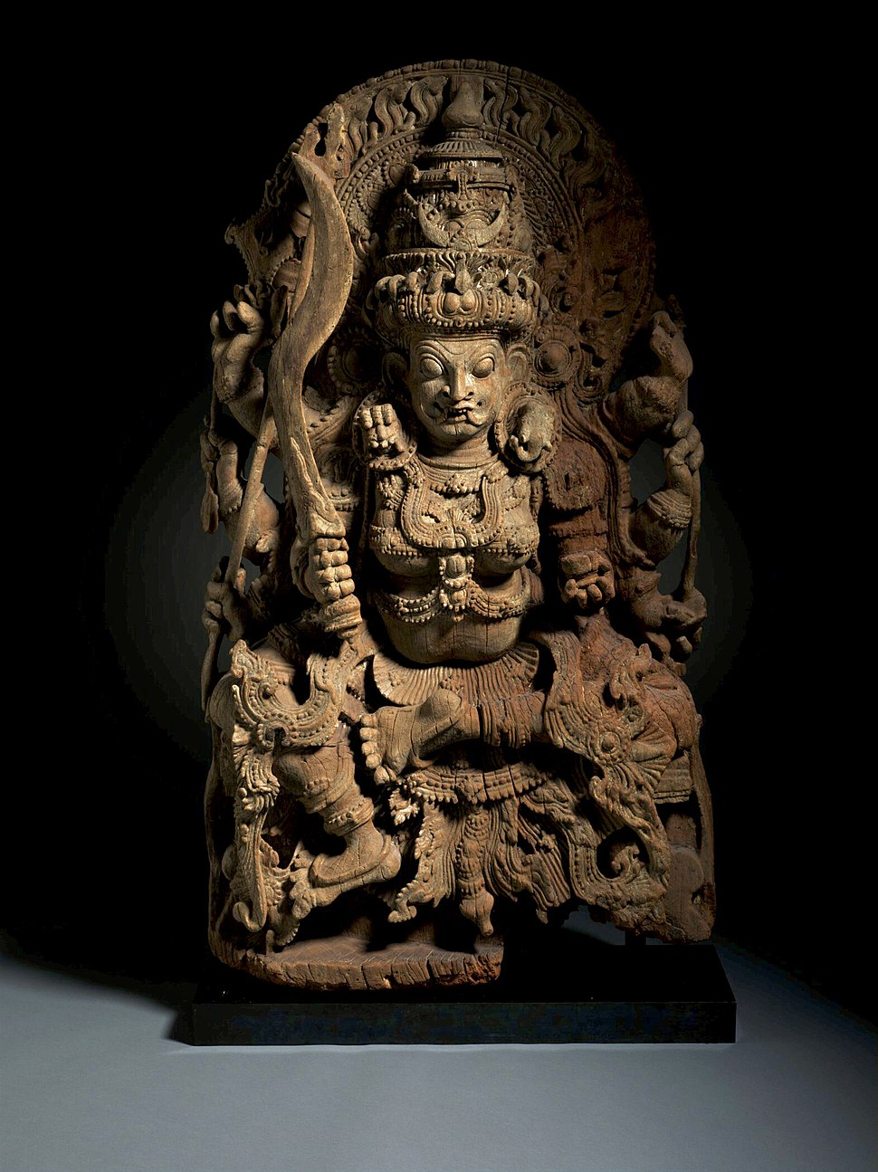 The Hindu Goddess Kali LACMA M.2011.5 (1 of 5)