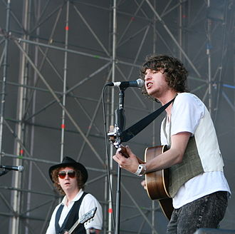 The Kooks - Harris and Pritchard at Summercase 2008 in Barcelona