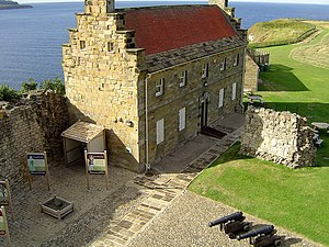 Scarborough Castle - Master Gunners House