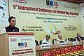 The Minister of State of Petroleum and Natural Gas, Shri Jitin Prasad addressing at the inauguration of the International Conference on National Data Repository (NDR9), in New Delhi on September 01, 2009.jpg