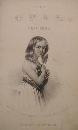 The Opal (annual) - The Opal frontispiece from 1847