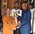 The President, Shri Ram Nath Kovind presenting the Padma Shri Award to Dr. Nguyen Tien Thien, at the Civil Investiture Ceremony-II, at Rashtrapati Bhavan, in New Delhi on April 02, 2018.jpg