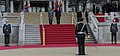 The Prime Minister, Dr. Manmohan Singh inspecting the guard of honour with the South Korean President, Mr. Lee Myung-bak, during the ceremonial reception, in Seoul on March 25, 2012 (1).jpg