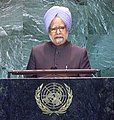 The Prime Minister Dr. Manmohan Singh addressing the 59th UN General Assembly in New York on September 23, 2004 (2).jpg