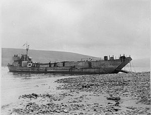Landing craft tank - LCT Mark 2