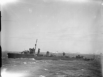 HMS Walker (D27) - Image: The Royal Navy during the Second World War A4593