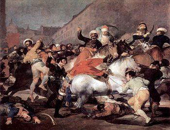 The Second of May 1808, Francisco de Goya