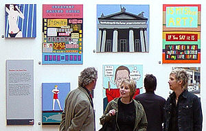 Sir Nicholas Serota Makes an Acquisitions Decision - The Stuckists Punk Victorian at the Walker Art Gallery, 2004