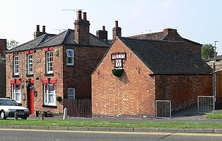Three Horseshoes, Whitwick pub in Whitwick, Leicestershire, England