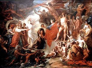 Jacques Réattu - Jacques Réattu, The Triumph of Civilization, 1793, oil on canvas. Kunsthalle Hamburg