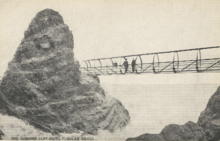 The original Tubular Bridge at The Gobbins