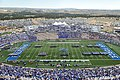 The U.S. Air Force Academy (USAFA) cadet wing opens the 2012 football season during pre-game ceremonies as the USAFA Falcons compete against the Idaho State Bengals at Falcon Stadium in Colorado Springs, Colo 120901-F-WR679-615.jpg