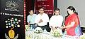 The Union Minister for Human Resource Development and Chairperson, KVS, Smt. Smriti Irani launching the KV SHAALA DARPAN for Kendriya Vidyalaya, in New Delhi. The Minister of State for Human Resource Development.jpg