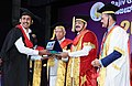 The Vice President, Shri M. Venkaiah Naidu presenting the Degrees to the Students, at the 20th Convocation of Rajiv Gandhi University of Health Sciences, in Bengaluru (2).jpg