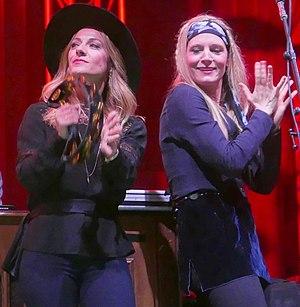 The Webb Sisters - The Webb Sisters performing in 2017