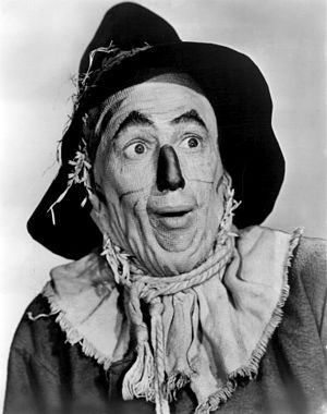 "Ray Bolger - Ray Bolger, as the Scarecrow, ""The Wizard of Oz"" 1939."
