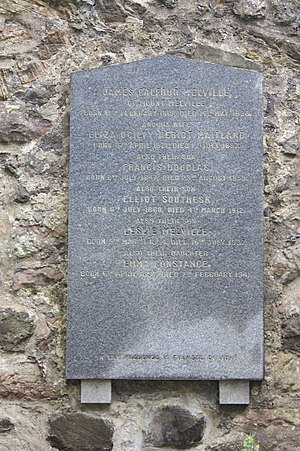 Leslie Balfour-Melville - The grave of Leslie Balfour Melville, Greyfriars Kirkyard