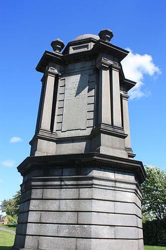 John Thomas Rochead - The grave of William Dunn, Glasgow Necropolis by Rochead